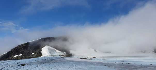 Kebnekaise, highest mountain in Sweden